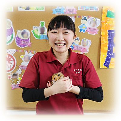 第147回 デイサービスセンターあさなぎ 看護師 中田 咲乃さん