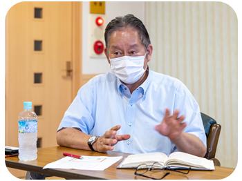 代表取締役 上西光宣さん